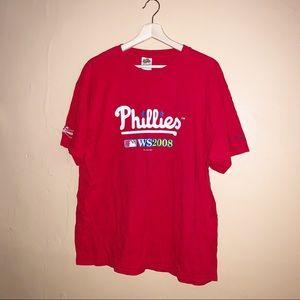 Vintage Phillies World Series Tee